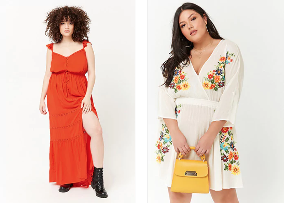 4592f1c1506 Gorgeous summer dresses from Forever 21 – Plus Size Outfit of the Day