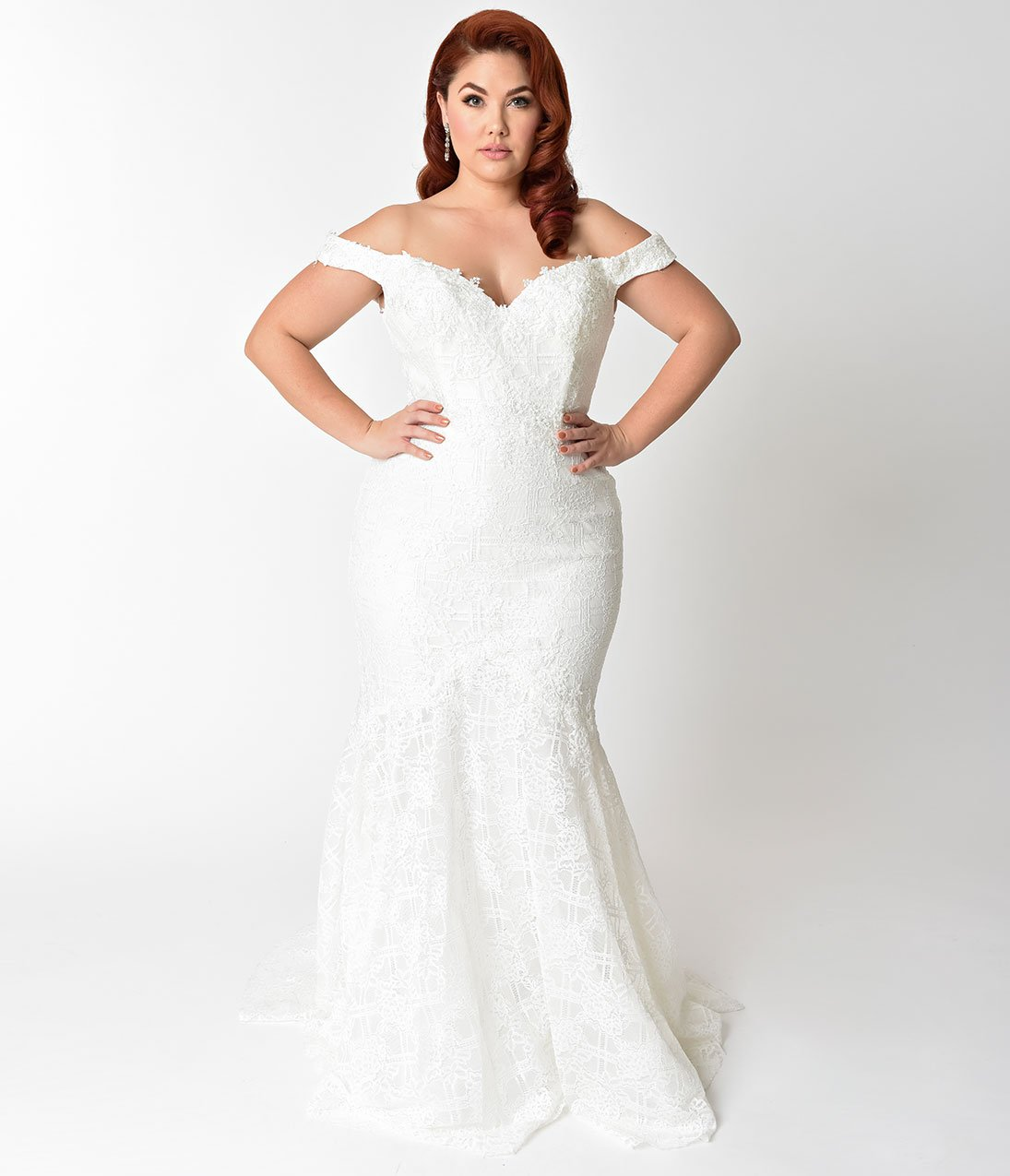 Cheap Plus Size Wedding Dresses Under $300