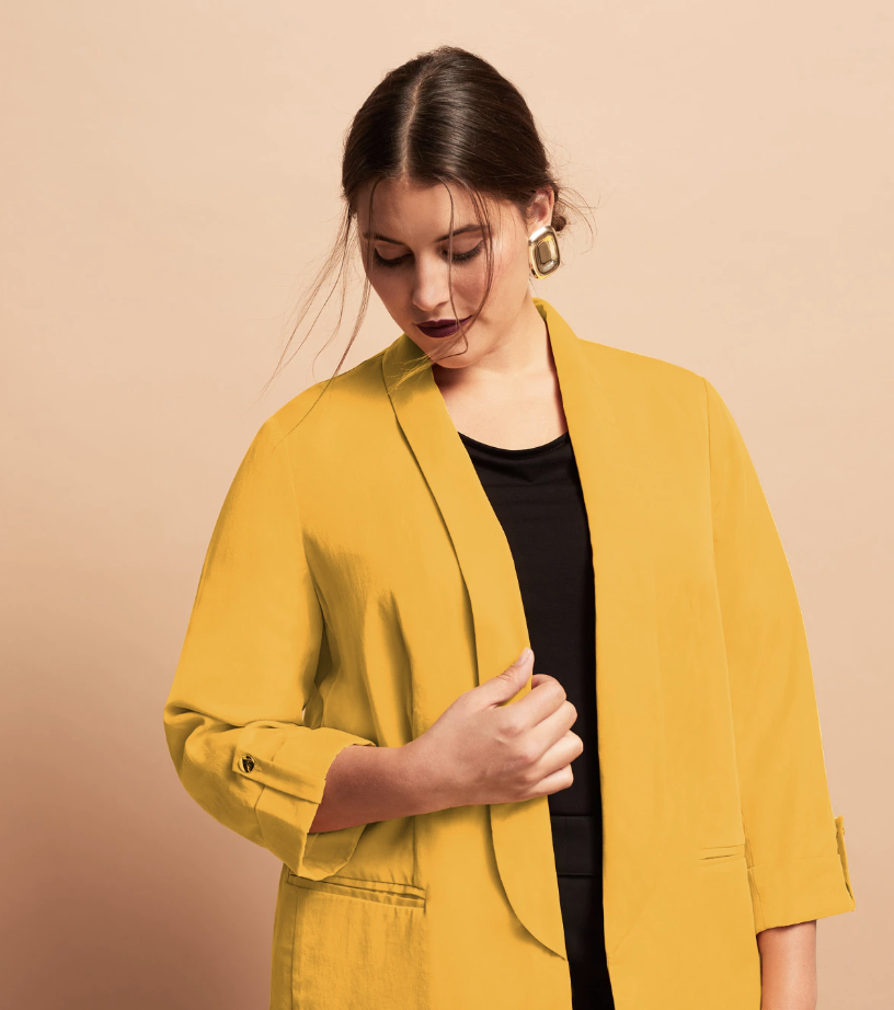 9d2cc119e7e 10 shops that sell plus size blazers – Plus Size Outfit of the Day